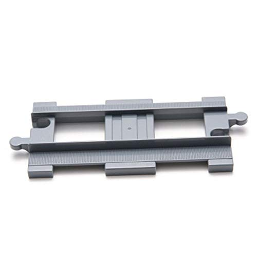 Other Items - Single Sale DIY Building Blocks City Train Track Curved Rails Railway Switch Compatible with Legoingly Duplo Toys for Children - by Orchilld - 1 PCs ()