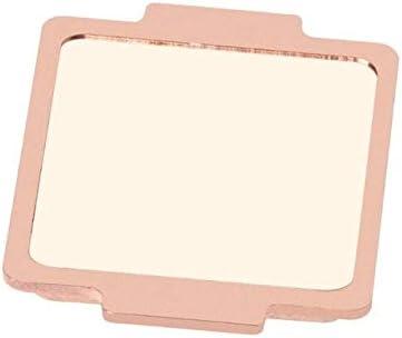 مروحة تبريد - غطاء فتاحة وحدة المعالجة المركزية غطاء علوي نحاسي لجهاز INtel i7 3770K 4790K 6700k 7500 7700k PXPE (B)