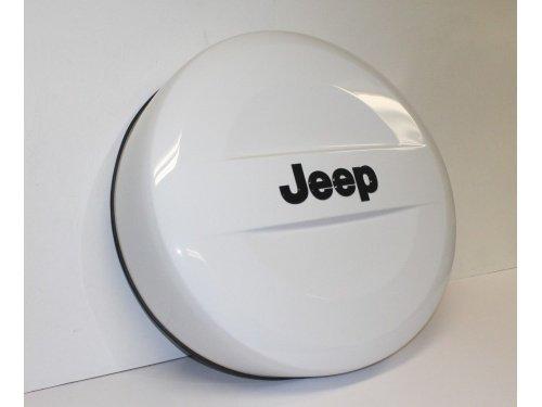 5QZ12GW7AA Jeep Wrangler Spare Tire Cover - Hard - Polar ()