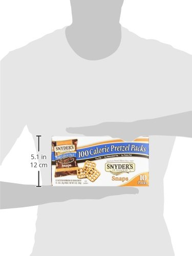 Snyder's of Hanover Pretzel Snaps, 100 Calorie Individual Packs (10 Count Box)