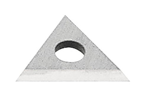 Carbide Replacement Blade (Warner 828 Carbide 100X Scraper Replacement Triangle Blade, Use with Warner Scraper Number 10016 and Number 808, 1-Inch)