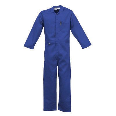 Stanco 4X Royal Blue 4.5 Ounce Nomex® IIIA Flame Retardant Coverall With Front Zipper Closure And Elastic Waistband ()