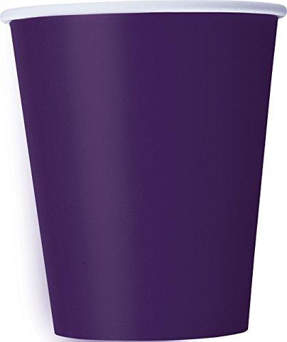 (9oz Dark Purple Paper Cups, 14ct)