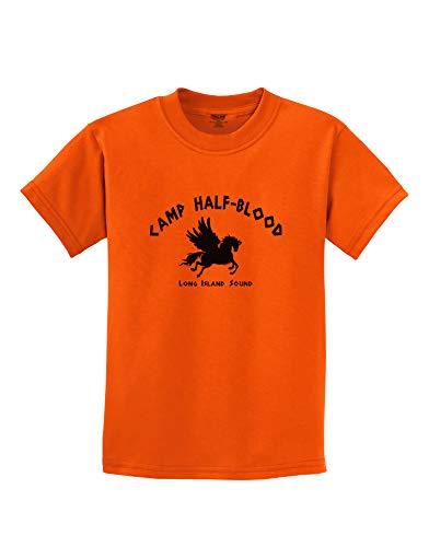TOOLOUD Camp Half Blood Child Tee - Childrens T-Shirt - Orange - Small