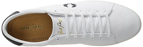 Fred Perry Men's Fp Spencer Fashion Sneaker, Tan, 11 UK US White