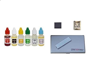 amazon com complete bullion tester kit with 6 acid tests