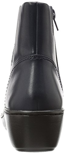 under 70 dollars CLARKS Women's Delana Joleen Boot Navy Leather for sale the cheapest TGFuy