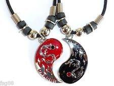 FRIEND Dragon Pendants Necklace Friendship
