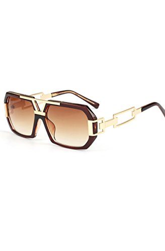 Rodeo Sunglasses Brown - Cartier Glasses Gold Frame