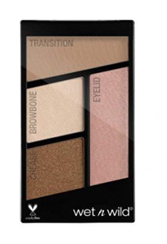 67fe8718899 Amazon.com : Wet N Wild Color Icon Eyeshadow Quad ~ Walking on Eggshells  340B : Beauty