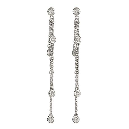 AGS Certified 1/2 Cttw Diamond & 14K White Gold