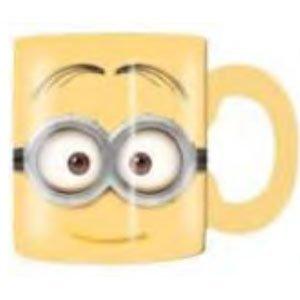 Two Eyed Minion (Silver Buffalo DM6632 Despicable Me Two-Eyed Minion Ceramic Mug,)