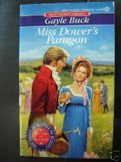book cover of Miss Dower\'s Paragon