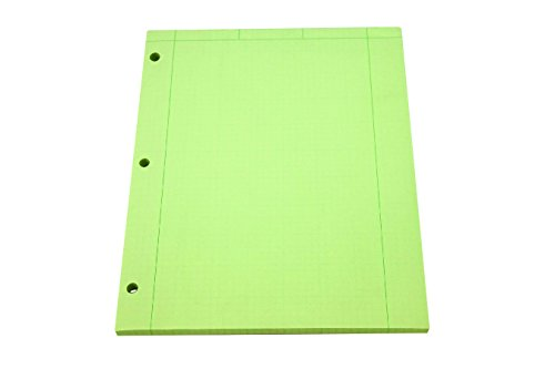 Roaring Spring Engineering Pad, 8.5'' x 11'', Green, 200 sheets by Roaring Spring (Image #7)