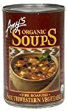 Amy's Organic Soup Fire Roasted Southwestern Vegetable 14.3 oz (Pack of 24)