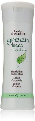Green Tea Refreshing Body Lotion (Body Drench Nourishing Body Lotion, Green Tea Plus Bamboo, 12.5 Ounce)