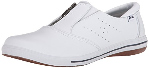 Amazoncom  Keds Womens Pacey ZipUp Leather Sneaker  Fashion Sneakers