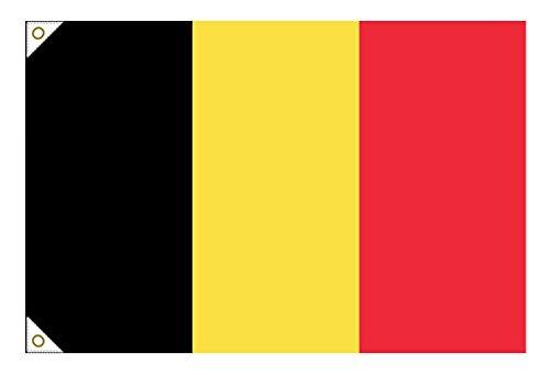 ベルギー国旗(135cm幅/エクスラン)   B01IR118K4