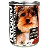 Petguard Turkey and Sweet Potato in Gravy Dinner for Dogs, 5.5-Ounce