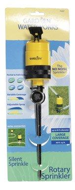 Gardien Waterworks Rotor Sprinkler On Metal Spike Plastic 85 ' Adj Spray Carded
