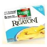 Seviroli Foods Cheese Gourmet Stuffed Rigatoni Pasta, 12 Ounce - 12 per case.