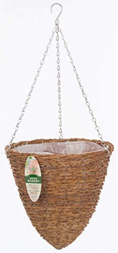 Gardman R298 Rustic Rattan Hanging Hive Basket, 14