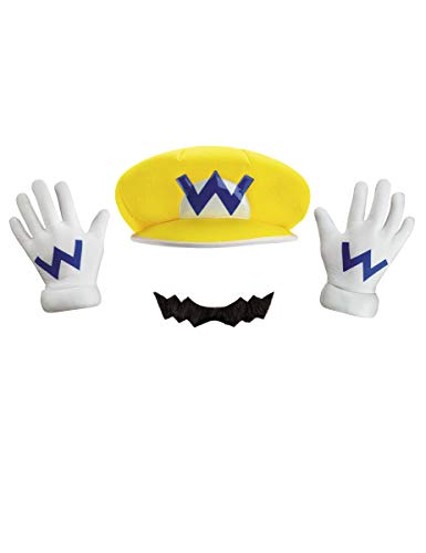 Disguise Super Mario Bros Nintendo Wario Instant