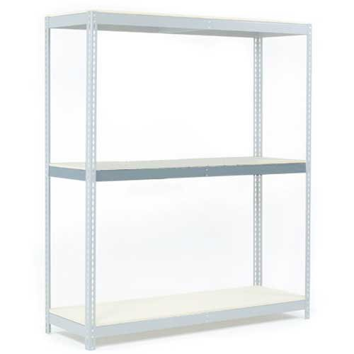Additional Level w/Wood Deck, For Wide Span Rack, 48''W x 36''D, 1200 Lb Capacity by Global Industrial