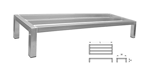 - ACE All Welded Heavy Duty Aluminum Dunnage Rack, 14