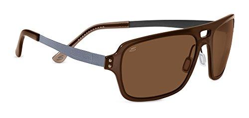Serengeti Nunzio Sunglasses, Crystal Photochromic Brown/Polar PhD Drivers ()