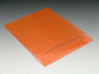 9-1/4'' x 12'' Polyethylene Routing Envelope w/Slit Opening and Hang Hole - Orange (6 mil) (500 Envelopes/Case) - AB-58-201V by Miller Supply Inc