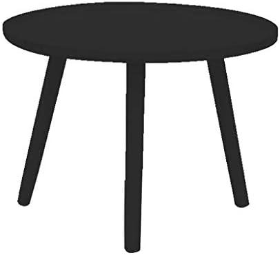Ontwerper GWFVA Ronde salontafel, woonkamertafel, lichtgewicht woonkamermeubel dienblad metalen eindtafel afneembare ronde ijzeren houder kleine bijzettafel 12.13  wPechZy