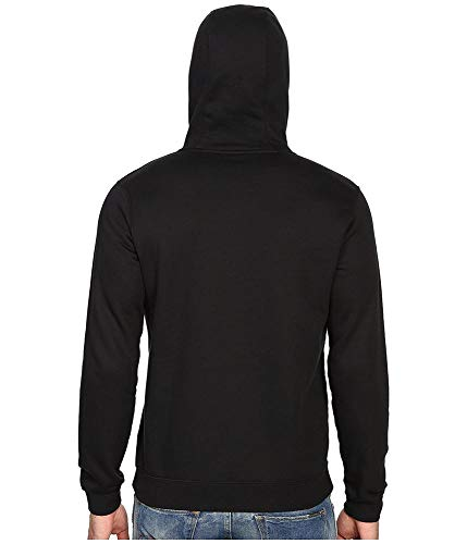 Flc M Negro Nsw Club Nike white Capucha Sudadera Con Hombre Fz black qftx5wH