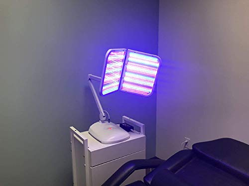 Low Level Led Light therapy photon PDT system beauty skin care face massagerment equipment.