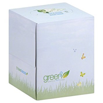 Green2 Face Tissue Cube Tree Free by Green