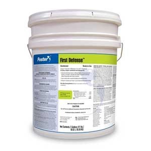 foster-products-disinfectant-first-defense-40-80-5-gallon-pail