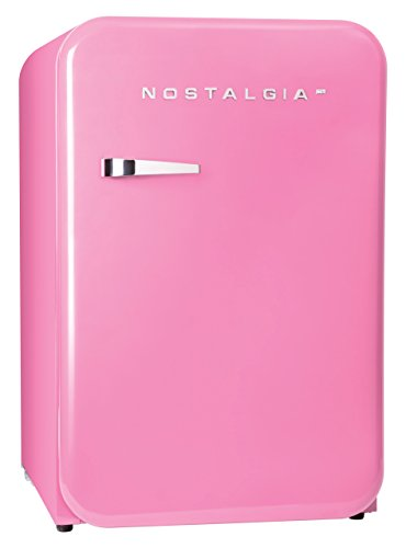 Nostalgia Retro 3.8-Cubic Foot Refrigerator with Freezer