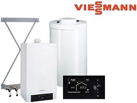 Detalles del paquete Vitodens de Viessmann, 200 – W, 13 kW, B2HB114 Vitotronic 200, Cuga 120 l.: Amazon.es: Bricolaje y herramientas