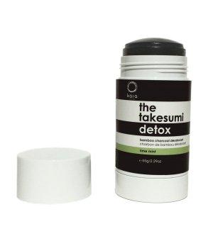 Kaia Naturals The Takesumi Detox Deodorant, Lime Mint, 2.29 Ounce