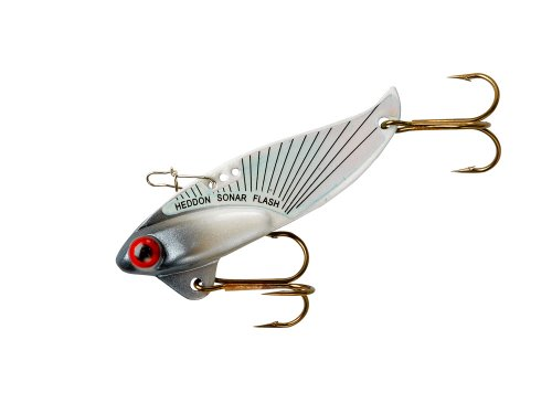 (Heddon Rattling Sonar Flash Lure's (Silver, 2 3/8-Inch, 1/2-Ounce))