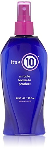 10 Products Top - it's a 10 Miracle Leave-In product 10 oz