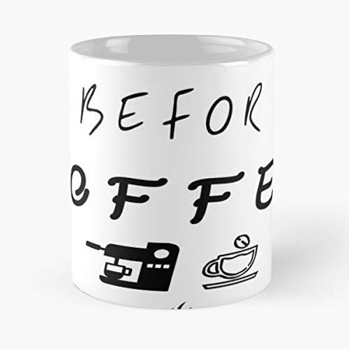 Nightmar Before Coffee Halloween Shirt Graphic Tee Cute - Morning Coffee Mug Ceramic Novelty, Funny Gift -