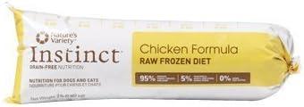 Natures Variety Frozen Raw Chickenturkey Chubs 2lb
