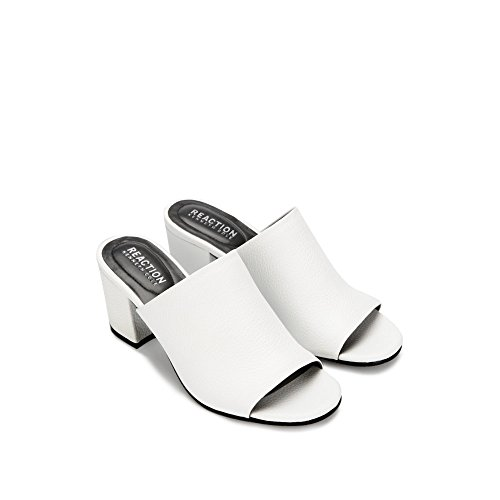 Reaction Kenneth Cole Malyn Slip-On Leather Mule - Women's White cheap store outlet prices xQgMpf8AO8