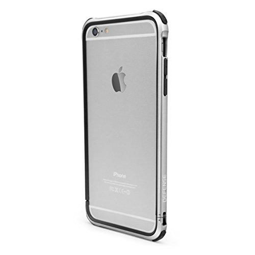 iPhone 6 Plus ONLY X-Doria Defense Gear Military Grade Drop Tested Rugged Case, Silver (Not for iPhone 6s Plus)