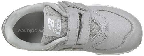 Yv574ks Bambina Balance Strappo A Argento Taglia Sportive Scarpe Silver Modello 5 040 574 30 New 80fwTqf