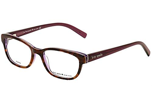 41182550038a Kate Spade Blakely Eyeglasses-0JLG Tortoise Purple-50mm