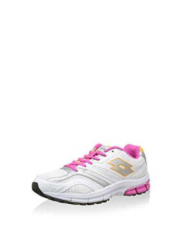 De Material Sintético Blanco Niña Para Zapatillas Nordic Lotto Walking Rosa qP5fIXw