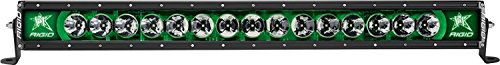Rigid Industries 230033 Radiance Plus Backlight; Surface Mount; 30 in.; Green; Black Housing; Single;