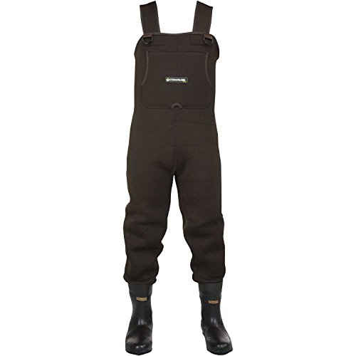 2113240 10 rogue neoprene btft wader clted for Fishing waders amazon